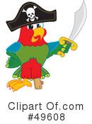 Parrot Mascot Clipart #49608 by Toons4Biz