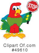 Parrot Mascot Clipart #49610 by Toons4Biz
