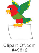 Parrot Mascot Clipart #49612 by Toons4Biz