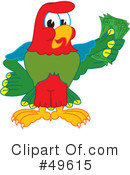 Parrot Mascot Clipart #49615 by Toons4Biz