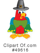 Parrot Mascot Clipart #49616 by Toons4Biz