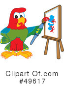 Parrot Mascot Clipart #49617 by Toons4Biz