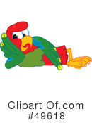 Parrot Mascot Clipart #49618 by Toons4Biz