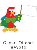 Parrot Mascot Clipart #49619 by Toons4Biz