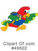 Parrot Mascot Clipart #49622 by Toons4Biz