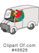Parrot Mascot Clipart #49626 by Toons4Biz