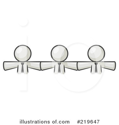 Colleagues Clipart #219647 by Leo Blanchette