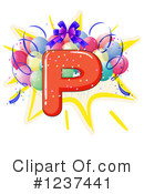 Party Alphabet Clipart #1237441 by Graphics RF