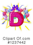 Party Alphabet Clipart #1237442 by Graphics RF
