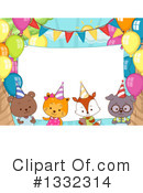 Party Animals Clipart #1332314 by BNP Design Studio