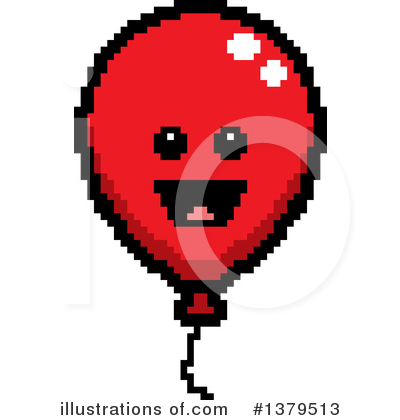 Balloon Clipart #1379513 by Cory Thoman