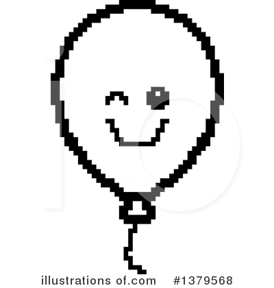 Royalty-Free (RF) Party Balloon Clipart Illustration by Cory Thoman - Stock Sample #1379568