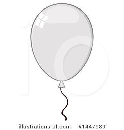 Balloons Clipart #1447989 by Hit Toon