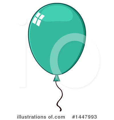 Balloons Clipart #1447993 by Hit Toon