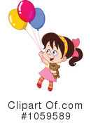Party Balloons Clipart #1059589 by yayayoyo