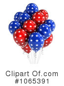 Party Balloons Clipart #1065391 by stockillustrations