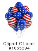 Party Balloons Clipart #1065394 by stockillustrations