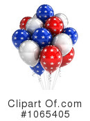 Party Balloons Clipart #1065405 by stockillustrations
