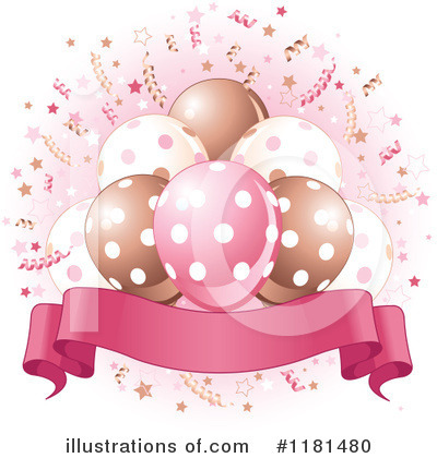 Birthday Party Clipart #1181480 by Pushkin