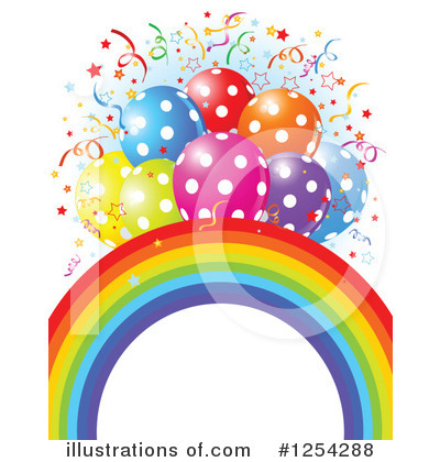 Rainbow Clipart #1254288 by Pushkin
