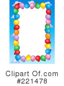 Royalty-Free (RF) Party Balloons Clipart Illustration #221478