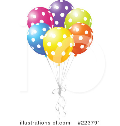 Birthday Party Clipart #223791 by Pushkin