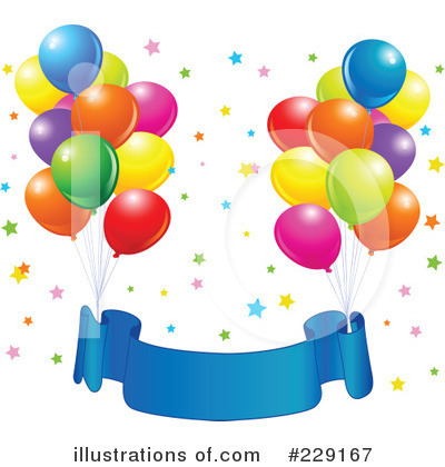 Balloons Clipart #229167 by Pushkin