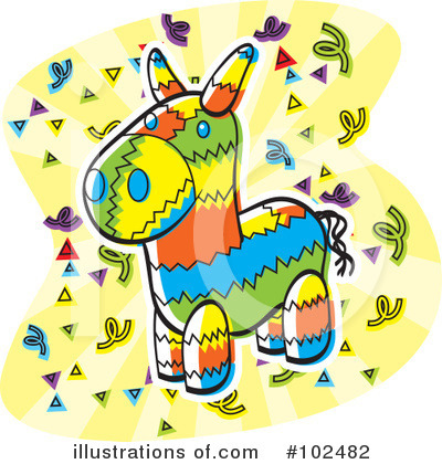 Royalty-Free (RF) Party Clipart Illustration by Cory Thoman - Stock Sample #102482