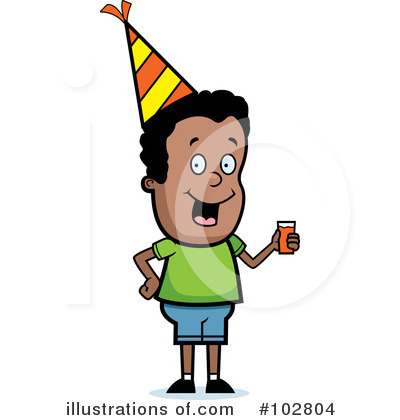 Party Clipart #102804 by Cory Thoman