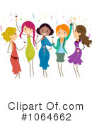 Royalty-Free (RF) Party Clipart Illustration #1064662
