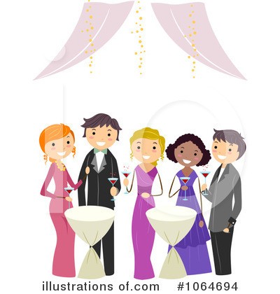 Prom Clipart #1064694 by BNP Design Studio