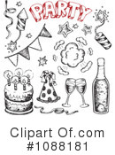 Party Clipart #1088181 by visekart