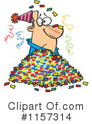 Party Clipart #1157314 by toonaday