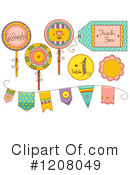 Royalty-Free (RF) Party Clipart Illustration #1208049