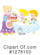 Party Clipart #1278103 by Alex Bannykh