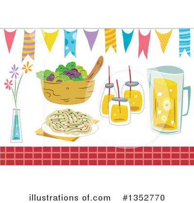 Royalty-Free (RF) Party Clipart Illustration by BNP Design Studio - Stock Sample #1352770