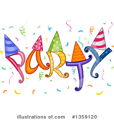 Party Clipart #1359120 by BNP Design Studio