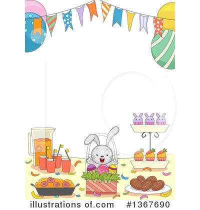 Table Clipart #1367690 by BNP Design Studio