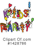 Royalty-Free (RF) Party Clipart Illustration #1428786