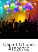 Party Clipart #1528782 by KJ Pargeter