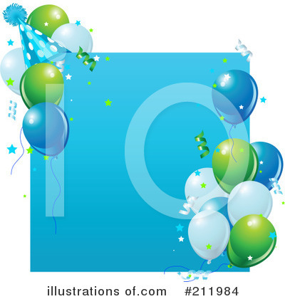 Birthday Party Clipart #211984 by Pushkin