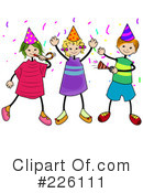 Party Clipart #226111 by BNP Design Studio