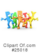 Party Clipart #25018 by 3poD