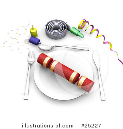 Royalty-Free (RF) Party Clipart Illustration by KJ Pargeter - Stock Sample #25227