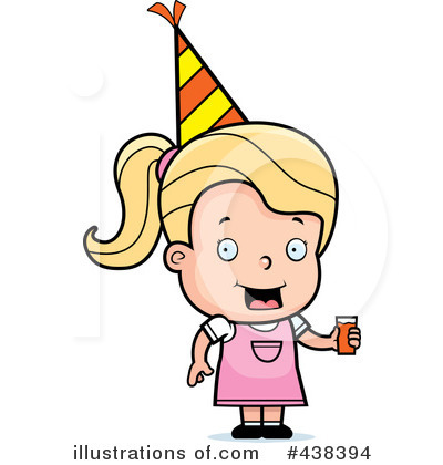 Birthday Girl Clipart #438394 by Cory Thoman
