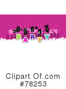 Royalty-Free (RF) Party Clipart Illustration #78253