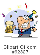 Royalty-Free (RF) party Clipart Illustration #92327