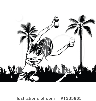 Dancing Clipart #1335965 by dero