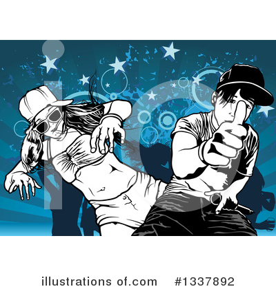Dancing Clipart #1337892 by dero