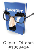 Passport Clipart #1069434 by AtStockIllustration